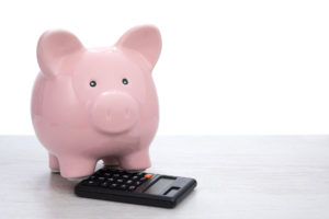 Piggy Bank with Calculator - Office Training in Grande Prairie